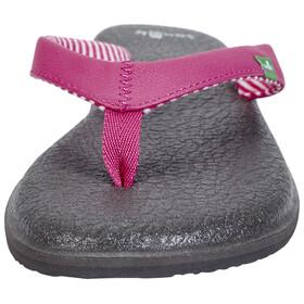 Sanük Yoga Chakra Sandals Women Fuchsia